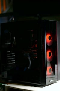 Gaming PC Computer Glass Case