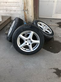 set with rims and winter tires r16 Oslo, 0667
