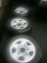 3 wheels and rims ... GOOD TIRES Fallston, 21047
