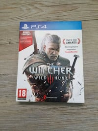 Sony PS4 The Witcher Wild Hunt spill tilfelle Ringsaker, 2365