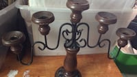 Wooden metal candle holdwey Akron, 44302