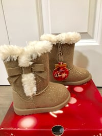 Jumping Beans Toddler Girls Winter Boots - Size 5 Plymouth