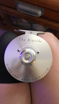 The Riptide fly fishing reel