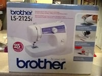 White and purple singer electric sewing machine box Charlotte, 28269