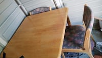 brown wooden table with chairs Markham, L3T 3E1