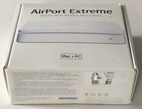 Apple Airport Extreme A1143 MB053LL/A 802.11n Dual-Band Wi-Fi Router with 3-Port Gigabit Ethernet Laurel