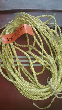 "1/4"" rope 60 feet  Des Moines, 98198"