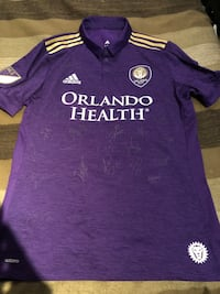 MLS Orlando City FC team signed jersey sz L  Burnaby, V5G 3X3