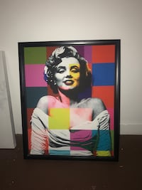 Marilyn Monroe Canvas Painting Seattle, 98133