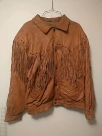 Overland outfitters leather coat size L 1818 mi