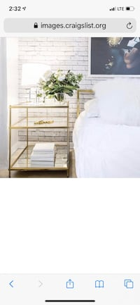 West Elm Brass Matching Side Tables/Nightstands Portland, 97232
