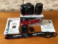 Canon EOS Rebel T3 Camera Package with many accessories - EUC Toronto