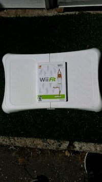 Wii balance board with game