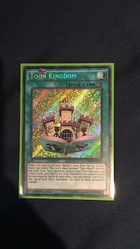 Toon Kingdom Yu-Gi-Oh! game card 538 km