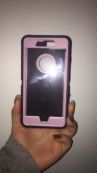 Pink and purple Otter Box IPhone 7/8 Plus Surrey, V3S 8T9