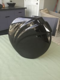 black ceramic vase Surrey, V3V 1W5