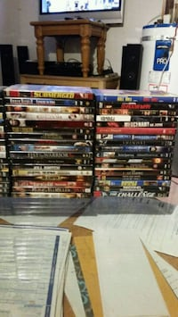For sale over 400 DVD'S   movies., Music Surrey, V3W 5Y7