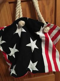 Medium Sized American Flag Tote New Orleans, 70121