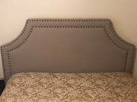 Queen fabric headboard with rails  Midland, 79705