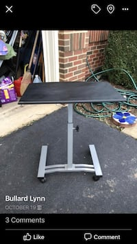black and gray TV stand Leesburg, 20175