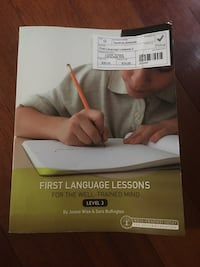 First language lessons teachers manual