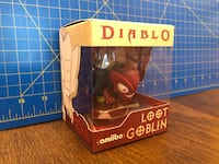 Diablo Treasure Goblin limited edition Amiibo. Richmond Hill, L4C 7P6