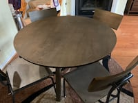 Round Dining Table from Crate and Barrel Fairfax, 22030