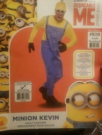 Men's Kevin the Minion Costume-Party City  Louisville, 40211