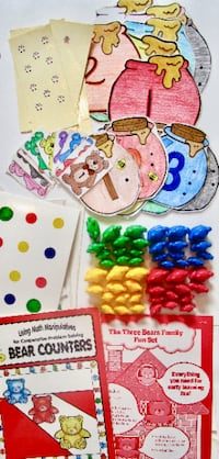 TEDDY BEAR COUNTERS - 20+ Games & Activities - ages 4-7 Lakeshore