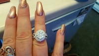 1 ct Diamond Ring 10k New with tags Newport News, 23605