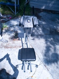 black and gray exercise machine Los Angeles, 90047