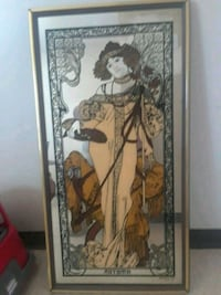 Stanford Art glass picture