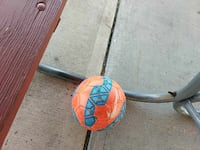 orange and teal Nike soccer ball Lakewood Township, 08701