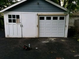 We change garage door installation repairs sale