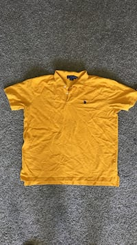 yellow Polo by Ralph Lauren polo shirt