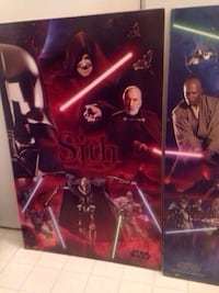 Large Star Wars Poster Boards ($35 For Both)