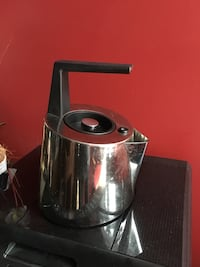 Bugatti Stove top Tea Pot. Used. Stainless steel. Zero rust. Modern style , but very functional. Just needs a good shining .  Richmond Hill, L4S 2L3