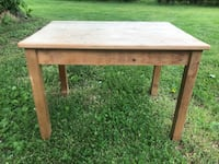 Wooden Table Kid Size