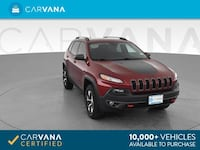2016 Jeep Cherokee suv TrailHawk Sport Utility 4D Red Brentwood