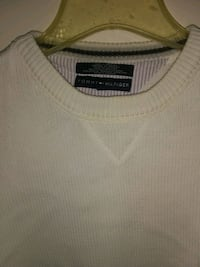 white and gray scoop-neck shirt Troy, 12180