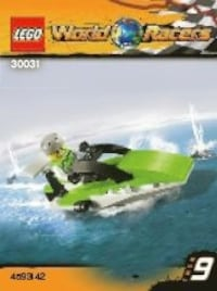 Lego World Racer Powerboat New Market, 21774
