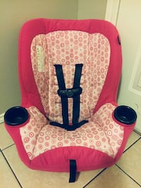 baby's red and white car seat Brownsville, 78521