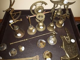 brass items negotiable
