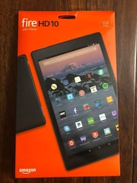 """Fire HD 10 Tablet 32GB, w/ Alexa, 10.1"""" 1080p HD, SEALED BOX Centreville"""