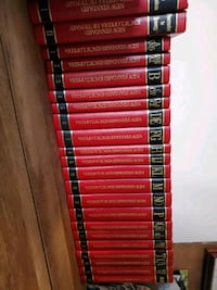 Encyclopedia set with dictionarys  Homer Glen, 60491