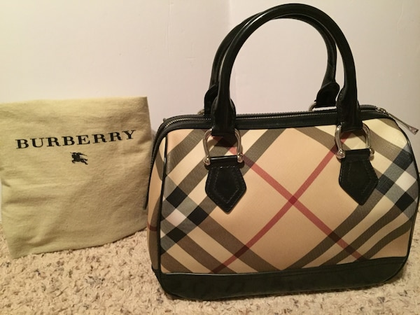 Used Authentic Burberry Bag for sale in Fremont - letgo 26b8f4aa5aacd