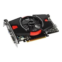 black and red graphics card