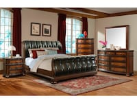 Brand new solid wood queen bedroom set Massapequa, 11758