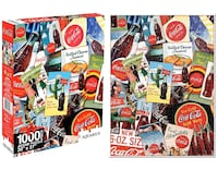 Coca Cola Collage 1000-Piece Jigsaw Puzzle London, N6E 1G2