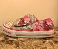 Girls light up twinkle toes size 9 Oak Hills, 92344